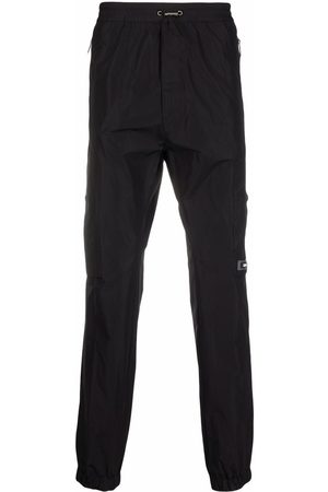 Dsquared2 Logo-patch toggle-fastening track pants