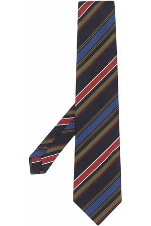Etro Striped cotton-silk tie