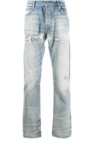 FEAR OF GOD Faded denim jeans