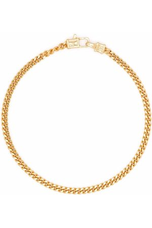 Tom Wood Curb M gold-plated sterling silver bracelet