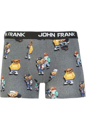 JOHN FRANK Pánské boxerky JFBD325-COOL TEDDY L