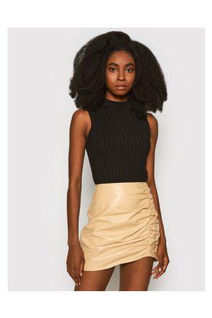 LaMarque Ženy Krátké - Kožená sukně