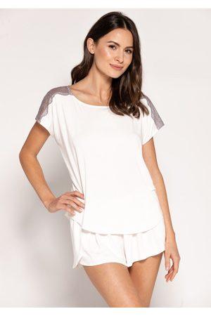 Babella Ženy Tepláky na spaní - Dámské pyžamo Fiona L