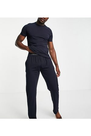 French Connection Tall jogger set in navy-Blue