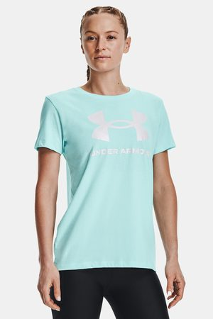 Under Armour Tyrkysové triko Sportstyle Graphic