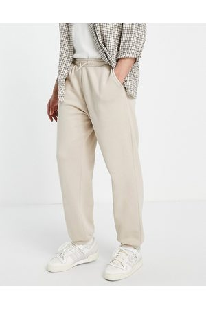 Weekday Standard co-ord joggers in beige-Neutral