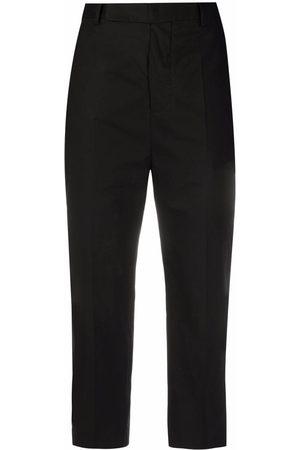 Rick Owens Ženy Úzké nohavice - Cropped slim-fit trousers