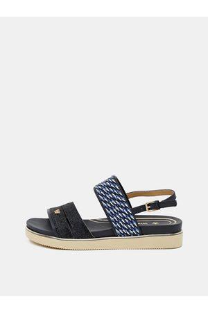 Wrangler Tmavě modré dámské vzorované sandálky
