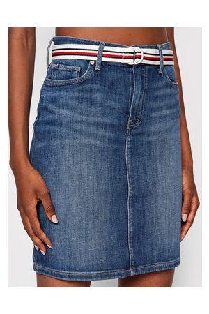 Tommy Hilfiger Ženy Krátké - Džínová sukně