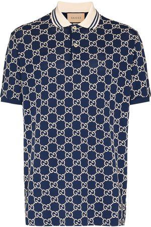 Gucci GG Supreme embroidered polo shirt