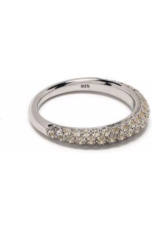 TOM WOOD Prstýnky - Liz crystal-embellished slim ring