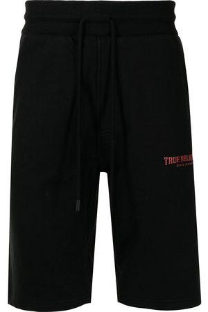 True Religion Muži Kraťasy - Logo-print track shorts