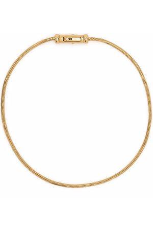 TOM WOOD Náramky - Boa gold-plated sterling silver bracelet