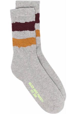 Golden Goose Stripe trim socks