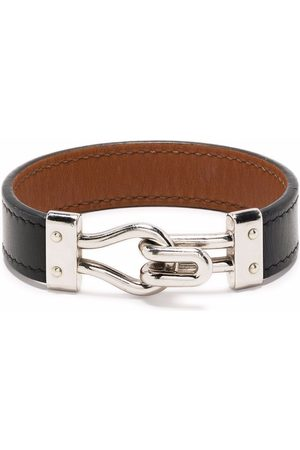 Hermès 2015 pre-owned hook fastening leather bracelet
