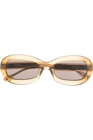 Etudes Out Of The Blue oval-frame sunglasses