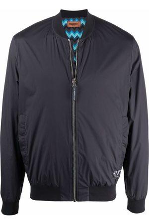 Missoni Zig-zag lined bomber jacket