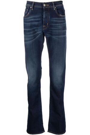 Jacob Cohen Muži Rovné nohavice - Mid-rise straight leg jeans