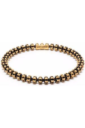Saint Laurent Spine beaded bracelet
