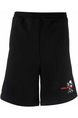 Helmut Lang Bermuda robot shorts