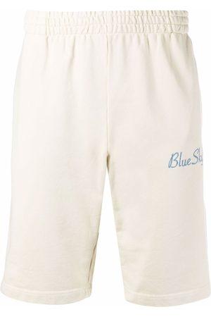 BLUE SKY INN Logo-embroidered cotton shorts