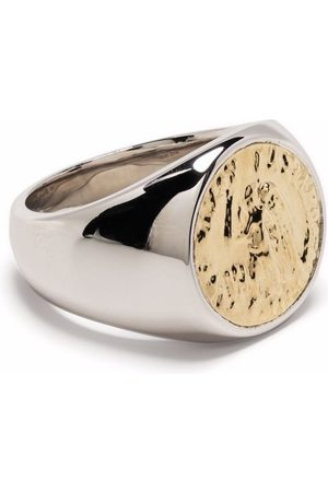 TOM WOOD Prstýnky - Coin signet ring