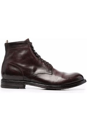 Officine creative Lace-up leather boots