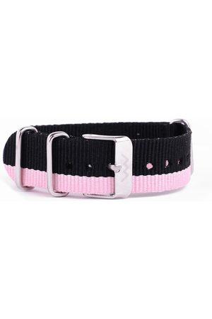 Ženy Pásky - VUCH Nylonový pásek Silver Pink