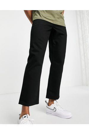 Topman Relaxed jeans in stay black