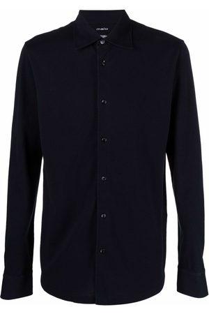 Malo Long-sleeved cotton shirt