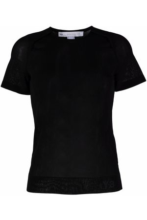 Y-3 Round neck short-sleeved T-shirt