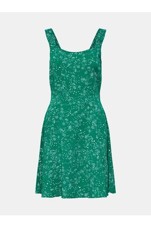 JACQUELINE DE YONG Zelené květované šaty Staar