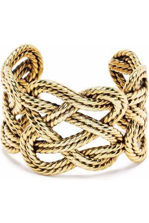 Aurélie Bidermann Brandebourg wide cuff bracelet