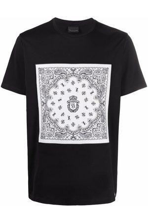 BILLIONAIRE Muži S krátkým rukávem - Crest motif T-shirt