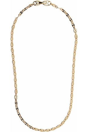 Tom Wood Bean gold-plated sterling silver chain necklace