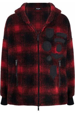 Dsquared2 Hooded fleece jacket