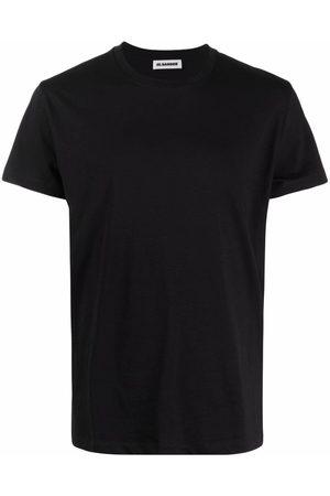 Jil Sander Muži S krátkým rukávem - Crewneck cotton T-shirt