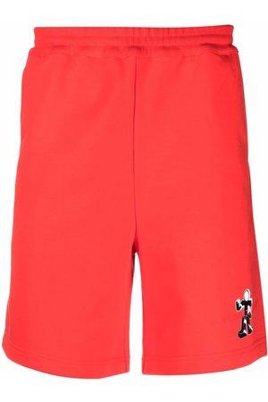 Helmut Lang Figure logo-print shorts