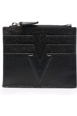 Versace Logo-print cardholder