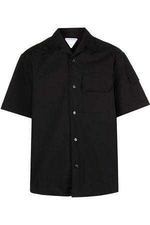 Bottega Veneta Multiple-pocket short-sleeve shirt