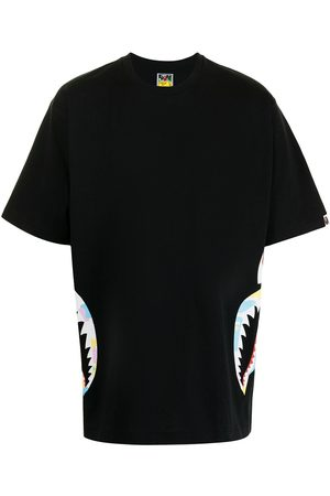 A BATHING APE® Muži S krátkým rukávem - New Multi Camo Side Shark T-shirt