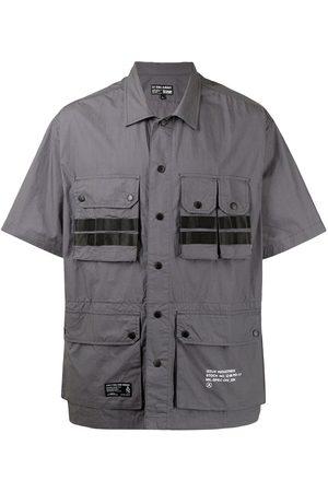 izzue Muži S krátkým rukávem - Short-sleeve cotton cargo shirt