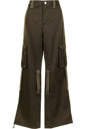 DION LEE Cargo kick-flare trousers