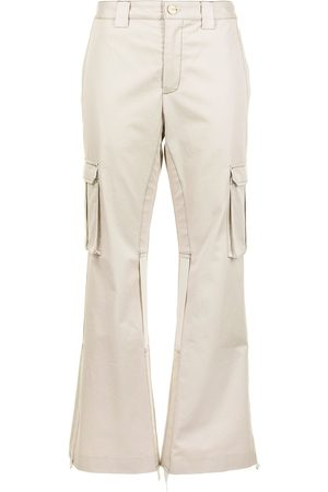 DION LEE Flared cargo trousers