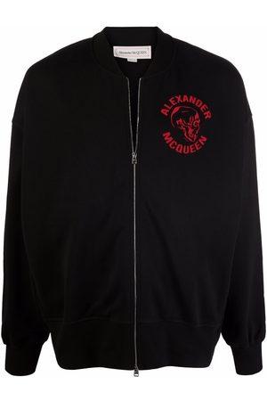Alexander McQueen Skull-print bomber jacket