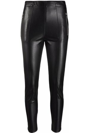 ERMANNO SCERVINO Skinny-cut leather-look trousers