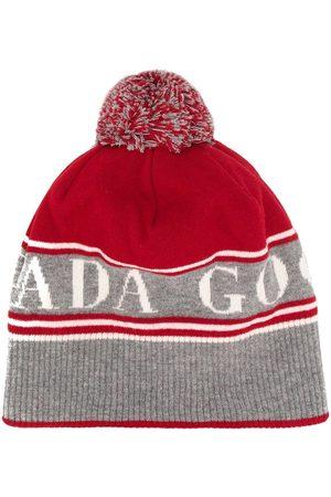 Canada Goose Intarsia knit beanie
