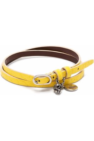 Alexander McQueen Ženy Náramky - Charm-detail double-wrap bracelet