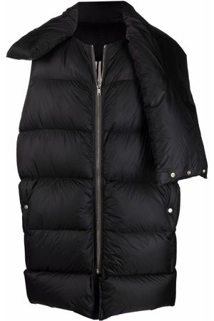 Rick Owens Mountain sleeveless padded coat