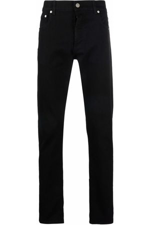Alexander McQueen Muži Slim - Logo-print slim-cut jeans
